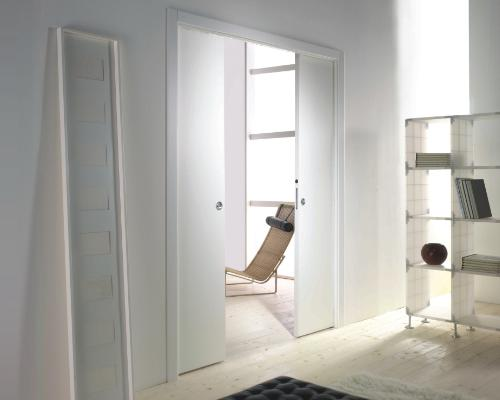 ... opening accessory the double doors move together when sliding just one of the doors creating a wider room from two adjacent ones. Evolution ... & EVOLUTION DOUBLE DOOR