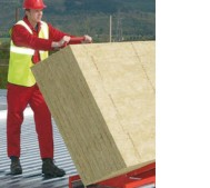 tapered rockwool